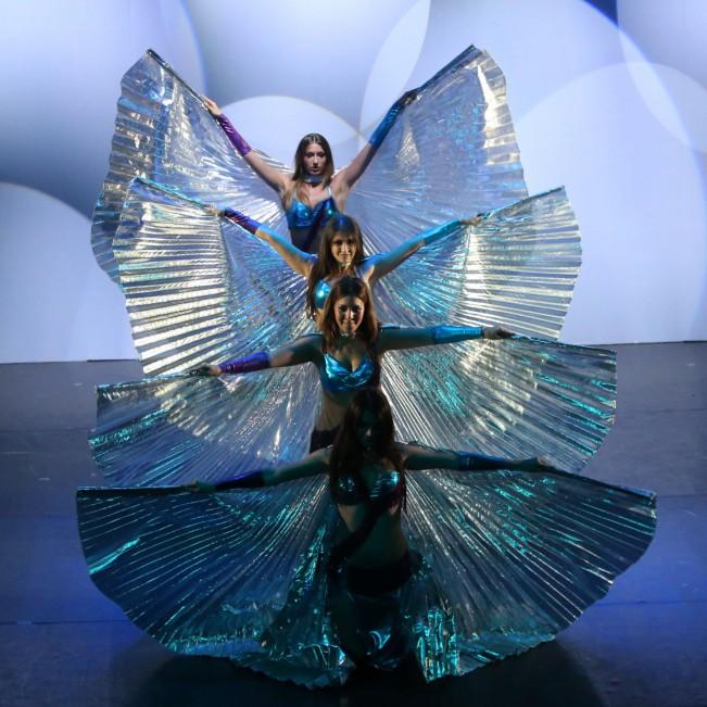 """Finali Nazionali del concorso """"Ballando Ballando Dance Festival"""" - Nettuno (RM)  -Danza del ventre"""
